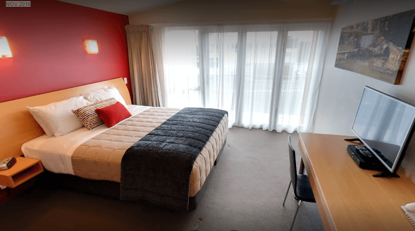 Luxury units at the Park view Motor Lodge