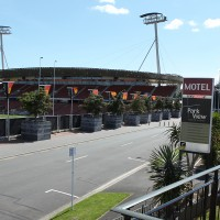 Ideally located for events at Waikato Stadium
